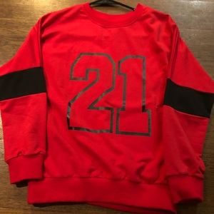 Red 21 sweater
